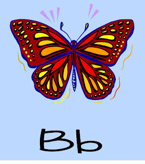 Alphabet Crafts  - Letter B alphabet activities for preschoolers