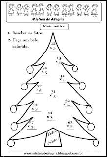 Operações de multiplicação na árvore natal