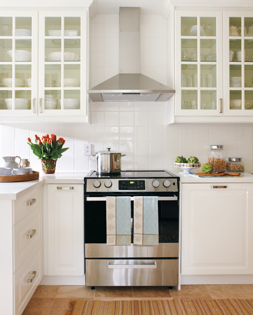 Pictures Of White Kitchens: Sense And Simplicity: 4 Great Countertop Colours For White