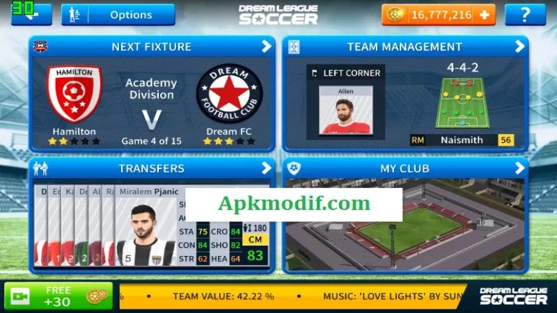 Dream League Soccer 2019 Mod Apk + OBB