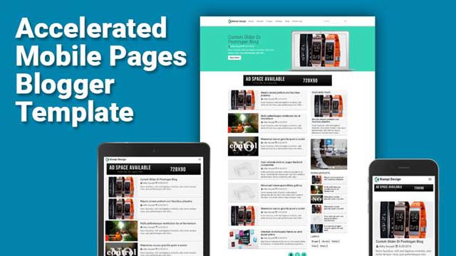 Kompi Template Blogger miễn phí đáp ứng