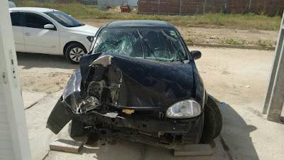 Tragédia: Criança de 1 ano e 4 meses, filha de casal oriundo de Ipu, morre em acidente automobilístico em Sobral.