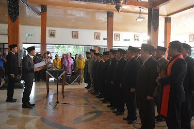 Tingkatkan Integritas Pemerintahan Emil Dardak Rotasi Pejabat Eselon II
