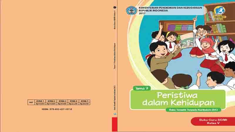 Buku Guru Kelas 5 Sd Tema 7 Peristiwa Dalam Kehidupan Semester 2 K13 Revisi 2017 Gurusd Id