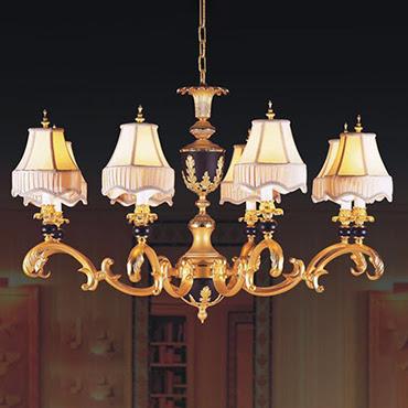 Những mẫu đèn chùm đồng cổ điển không thể bỏ lỡ