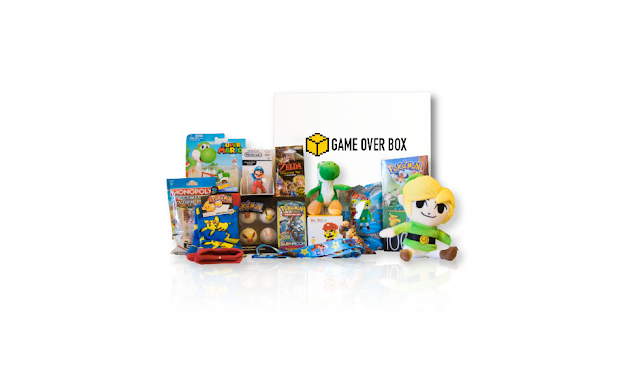 game over box, Nintendo subscription box