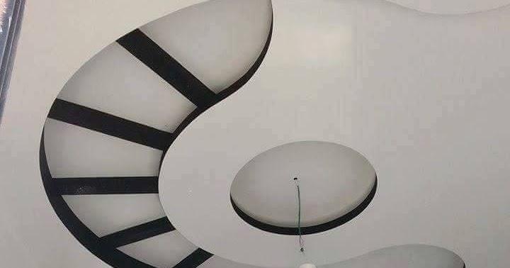 moderne faux plafond de chambre a coucher ms timicha d coration pl tre plafond. Black Bedroom Furniture Sets. Home Design Ideas