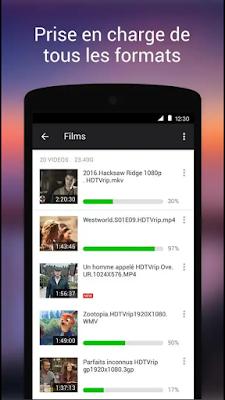 تحميل اخر إصدار تطبيق XPlayer مشغل الفيديو يدعم جميع صيغ الفيديو و الصوت