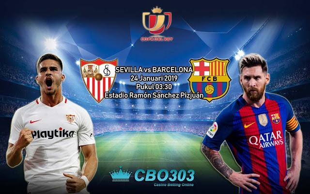PREDIKSI BOLA: Sevilla vs Barcelona