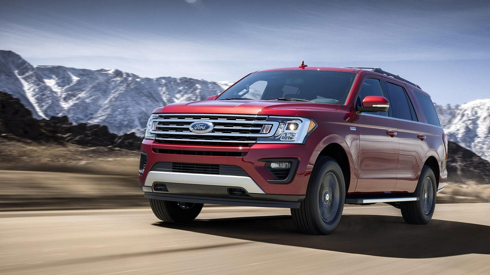 2018 Ford Expedition FX4 Bows With An Assortment Of Off ...