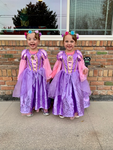 Rapunzel Kids Halloween Costume