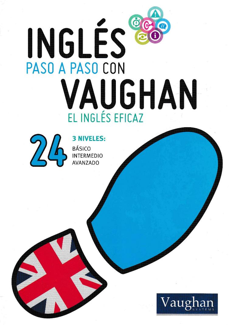 Inglés paso a paso con Vaughan 24 [Libro + Audio]