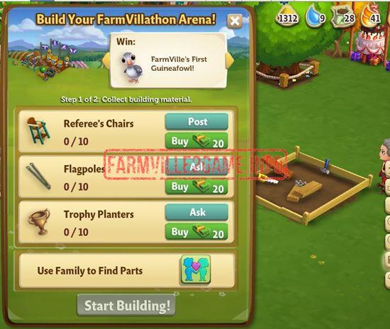 FarmVillathon Arena