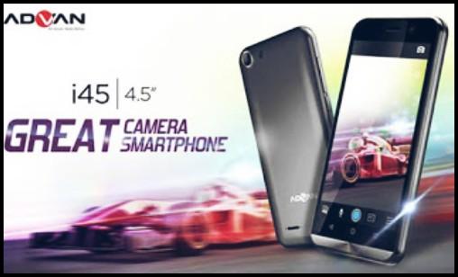 Spesifikasi Advan Vandroid i45 4G LTE Dengan Harga Murah