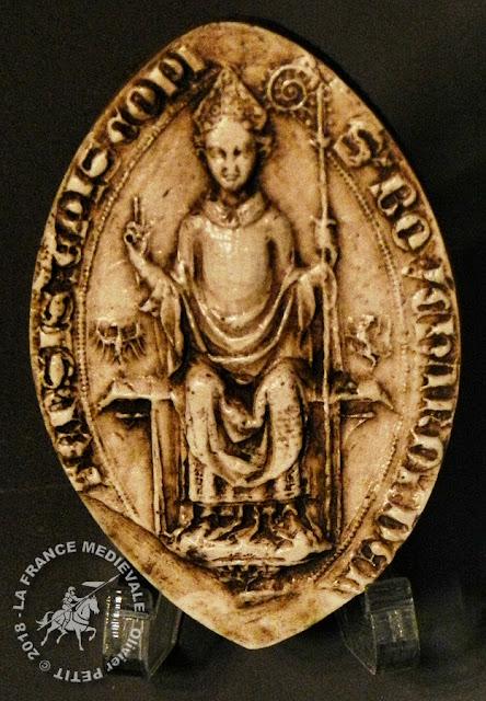 Sceau daté de 1422 appartenant à Conrad Bayer de Boppart (1415-1459)