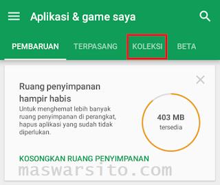 Mengembalikan aplikasi yang terhapus di android