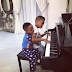 Awww!!! Check out this cute photo of Peter & Paul Okoye's sons playing the piano