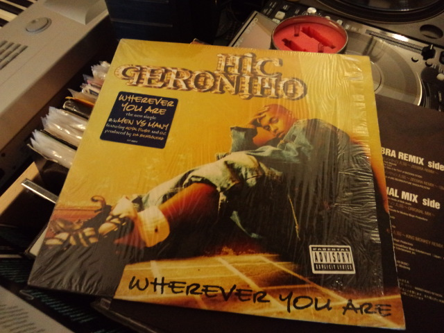 Mic Geronimo-Wherever you are のレコードです。