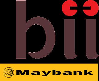 Logo bii maybank
