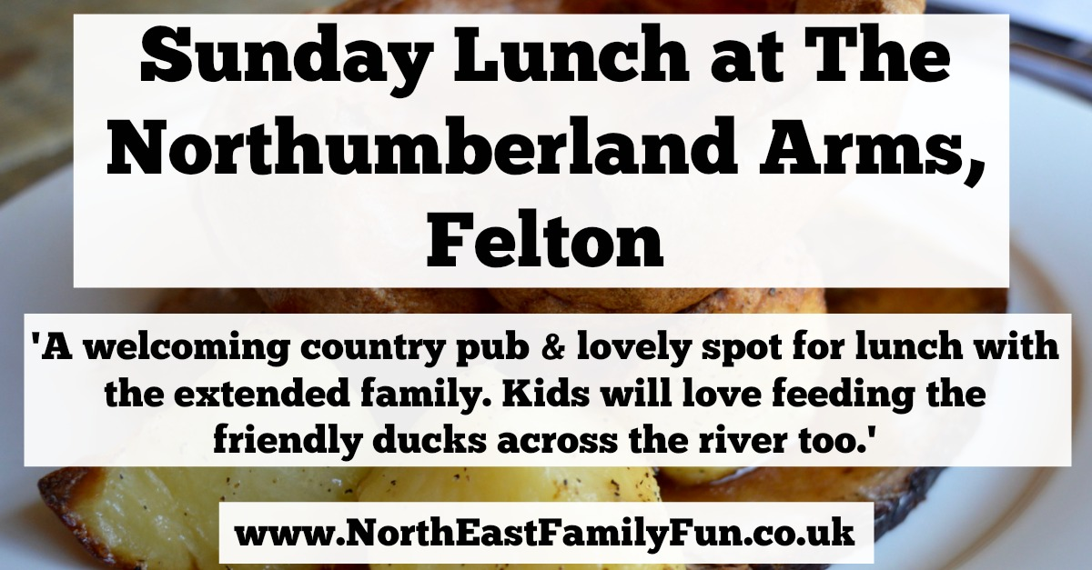 The Northumberland Arms, Felton | Sunday Lunch & Children's Menu Review