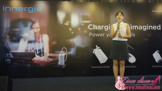 Ms.Claire Wang, Global Director of Innergie Business.