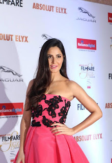 Katrina Kaif in Sinddori Sleevless Deep neck Gown