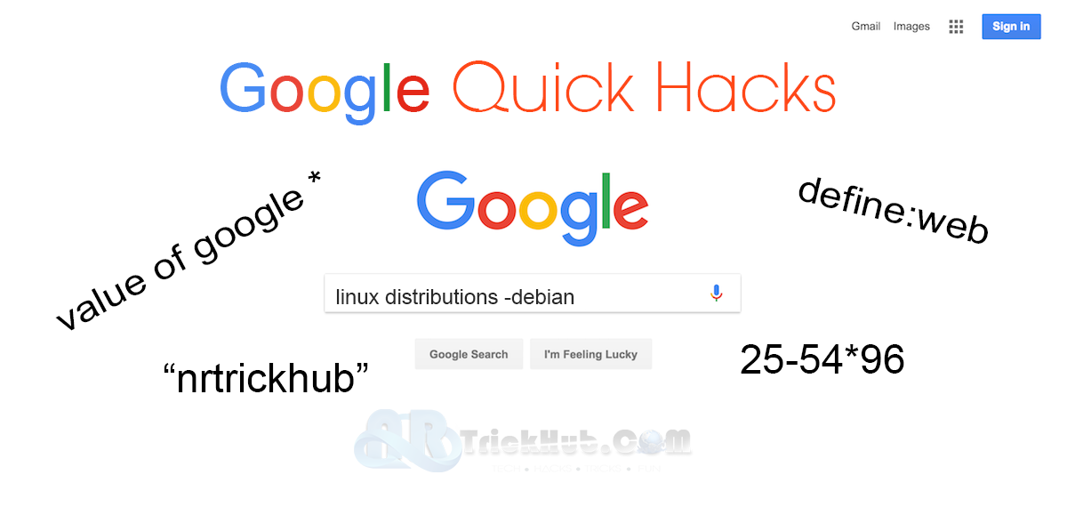 how to hack google search engine