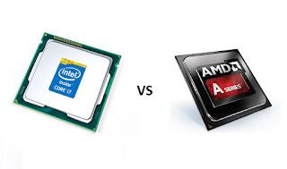 Inilah Perbandingan Prosesor dari Intel dan AMD