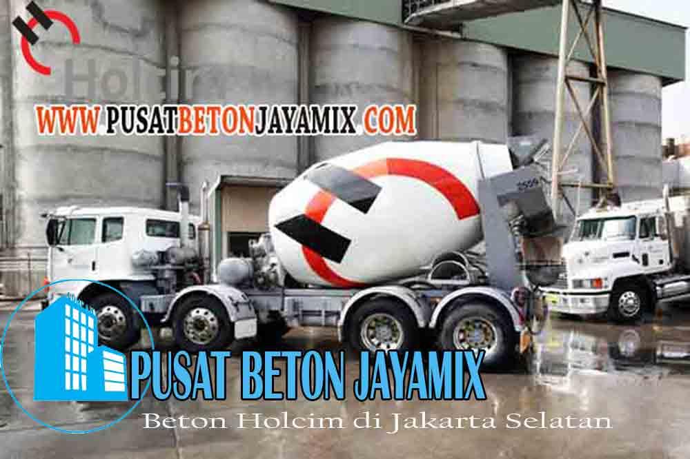 HARGA BETON HOLCIM JAKARTA SELATAN PER KUBIK & PER MOBIL MOLEN TERBARU 2020