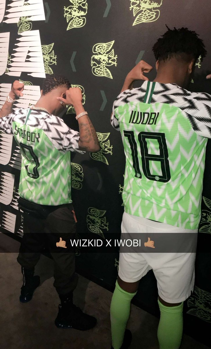ccfc3dc8ce2 ... 2018 World Cup kits have been unveiled by Nike and the Nigeria Football  Federation (NFF). Nike is the official kits sponsor of Nigeria s national  teams.