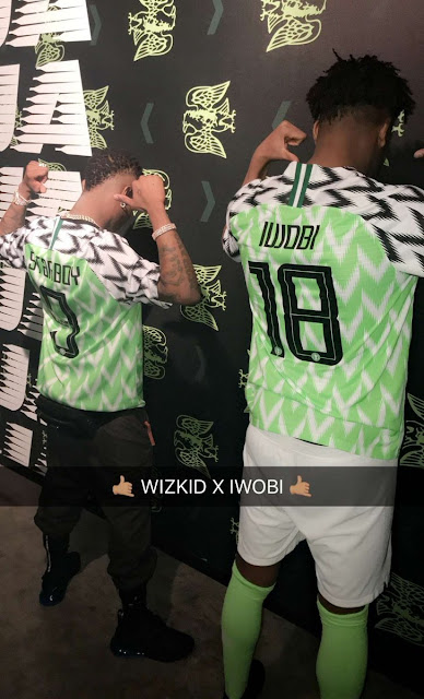 The Super Eagles  2018 World Cup kits have been unveiled by Nike and the  Nigeria Football Federation (NFF). Nike is the official kits sponsor of  Nigeria s ... b9a4826de