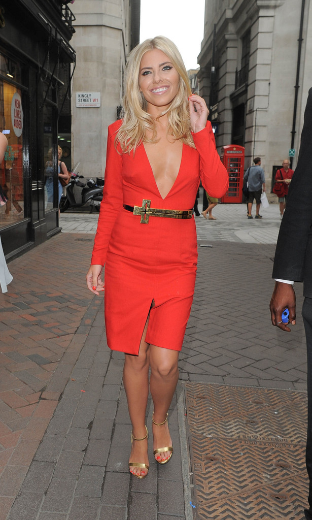 Mollie King at the AQ/AQ Store opening in London