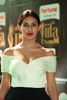 Amyra Dastur in White Deep neck Top and Black Skirt ~  Exclusive 033.JPG