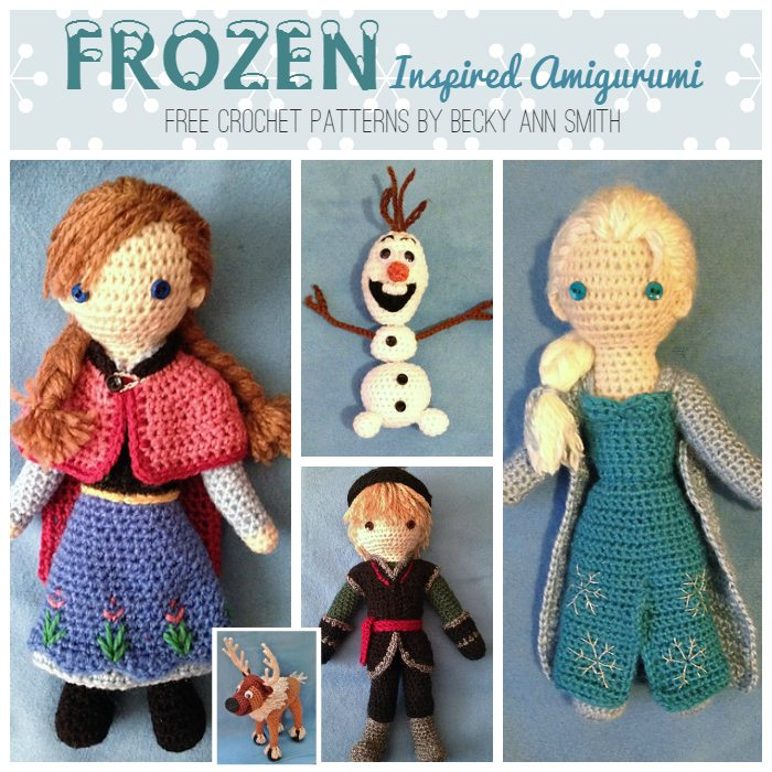 Olaf from Frozen Crochet Amigurumi Pattern - One Dog Woof | 700x700