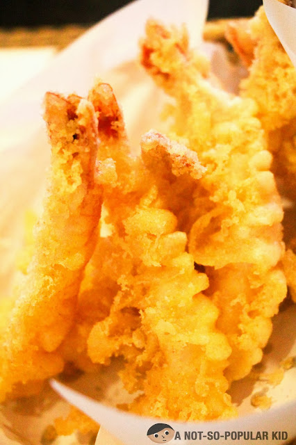 Tempura of the Kamameshi House