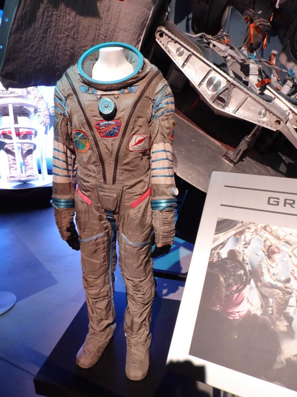 Sandra Bullock Gravity movie costume
