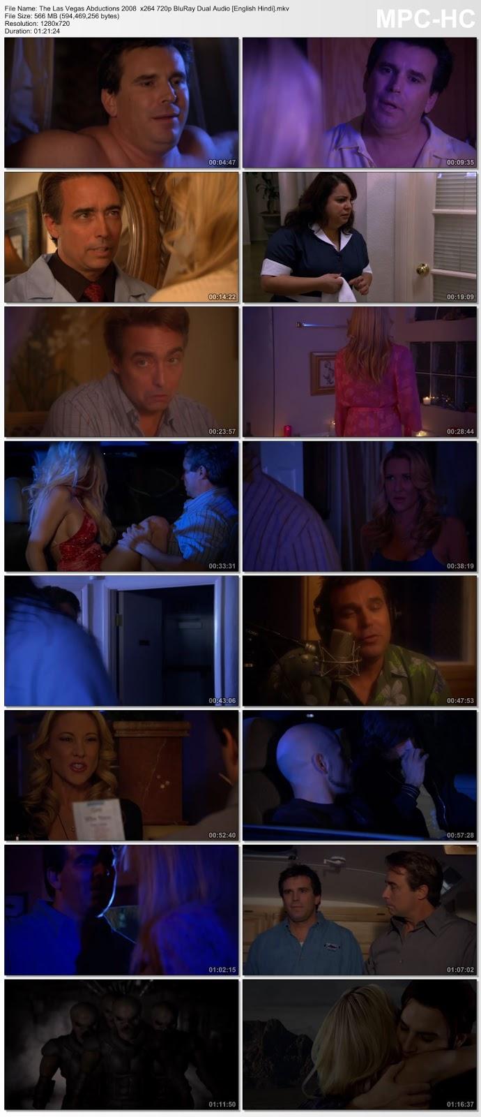 The Las Vegas Abductions (2008) 720p BluRay Dual Audio [Hindi – English] 550MB Desirehub