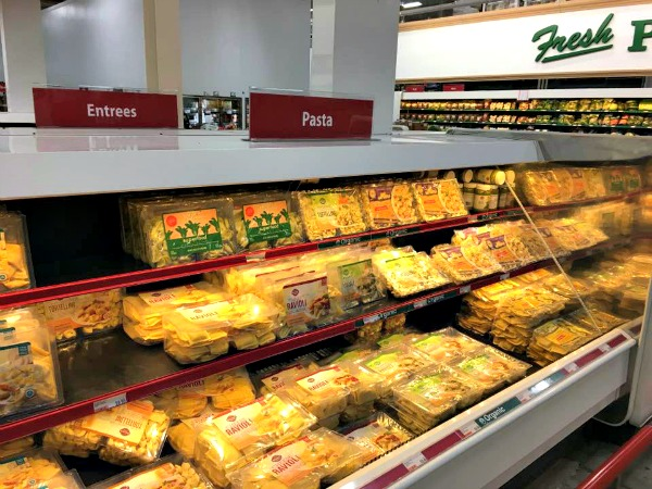 Fresh pasta from BJ's Wholesale Club featured on Walking on Sunshine Recipes