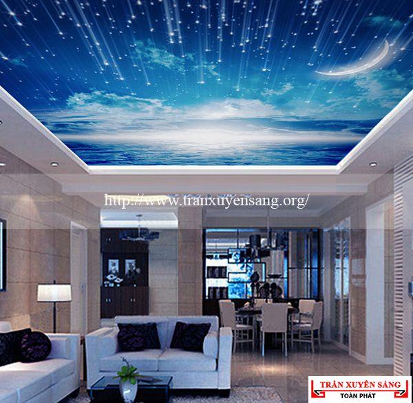 Mẫu trần phòng khách 5