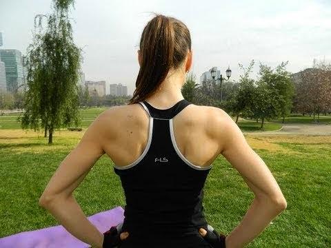 Ejercicios para eliminar grasa en la espalda
