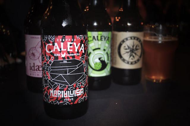 diferentes cervezas asturianas destaca Caleya en la foto