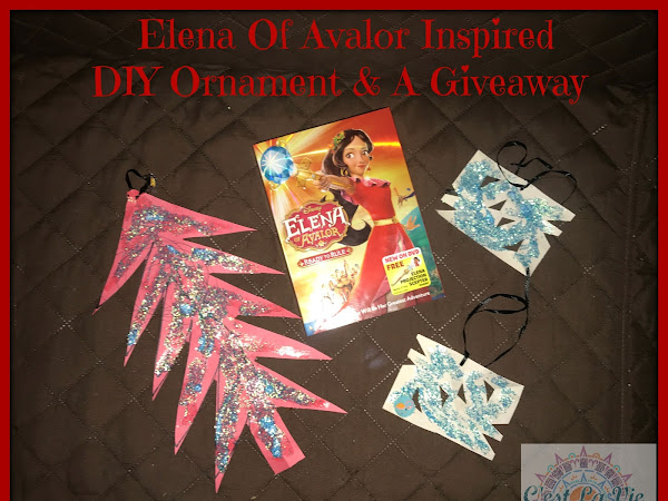 Elena Of Avalor Inspired DIY Ornament & A Giveaway