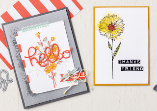 Stampin' Up Touches of Texture Cards