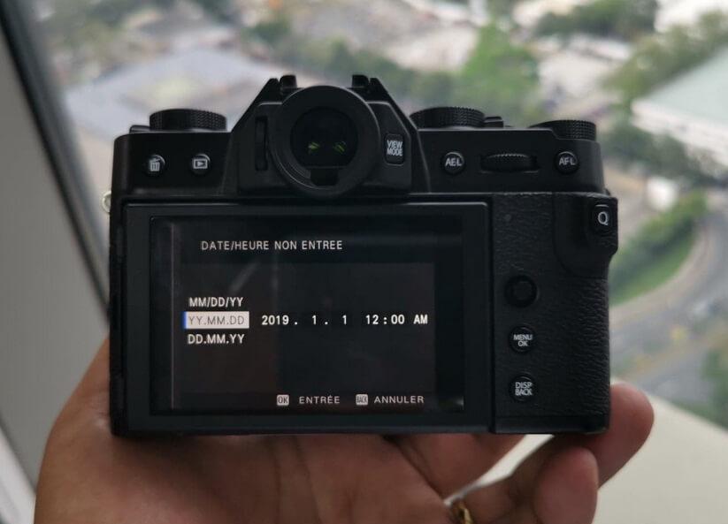 Fujifilm X-T30 Back