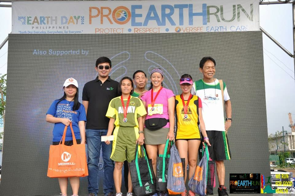 Pro Earth Run 2014 shots