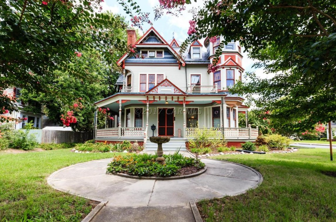 Gillis Grier House 1887 Queen Anne Victorian In Salisbury Maryland