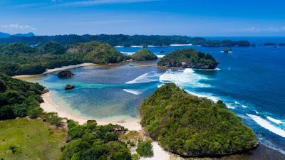 Lokasi Dan Jalan Menuju Teluk Asmoro Malang,