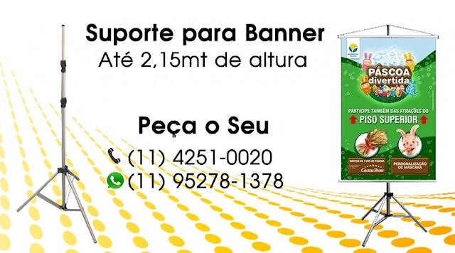 Suporte para Banner São Paulo