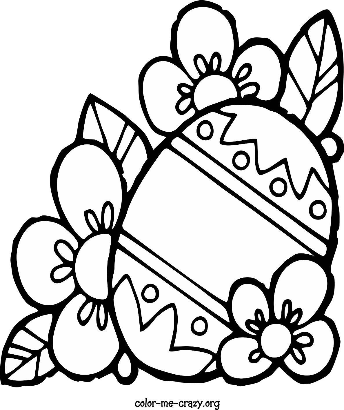 Colormecrazy Easter Coloring Pages