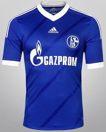 Adidas lança nova camisa titular do Schalke 04 - Show de Camisas b76698d136d71